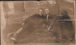 Mon grand-père à gauche